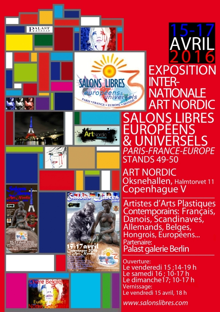 Carte recto Salons Libres Art Nordic 2016c
